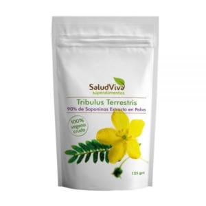 Tribulus Terrestris 90% de Saponinas Extracto en Polvo