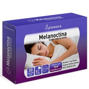 Melanoctina sueña toda la noche