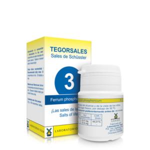 Tegorsales 3 Ferrum Phosphoricum