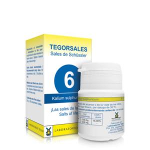 Tegorsales 6 Kalium Sulphuricum