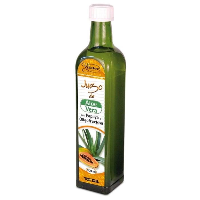 Vitaloe jugo de aloe vera con papaya